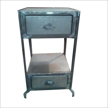 Iron Double Drawer Unit