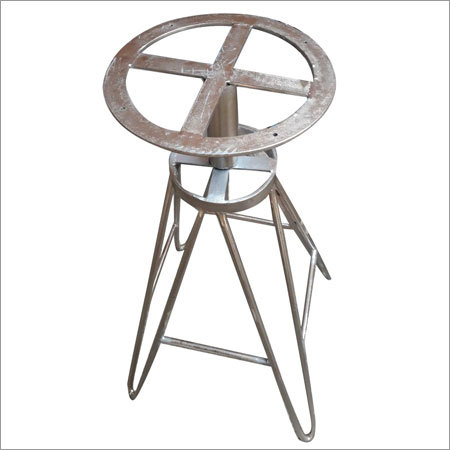 Raw Iron Revolving Stool