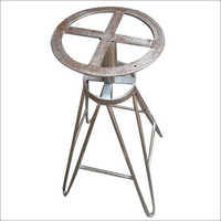 Wrought Iron Revolving Stool