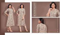 Designer printed cotton kurtis online shopping