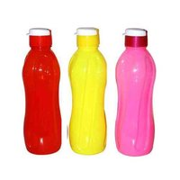 PLASTIC FRIDGE BOTTLE - THUNDER - 600 ML (FLIP TOP)