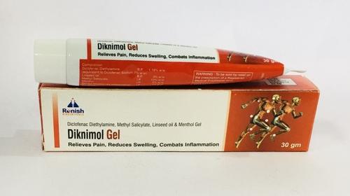 Linseed Oil & Menthol Gel