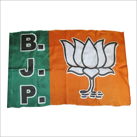 Silk Bjp Election Flags