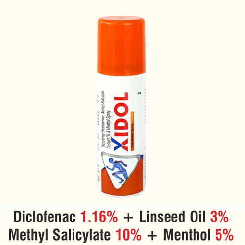 XIDOL Pain Relief Spray