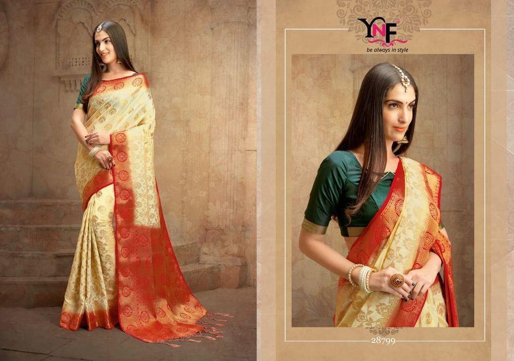 Indian designer banarasi soft silk sarees