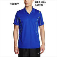 Reebok Side piping Polo T shirt