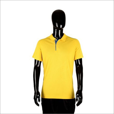 Adidas Yellow Sports T Shirt CD3048