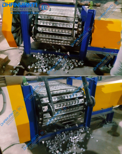 Aluminum Cube Casting Conveyor