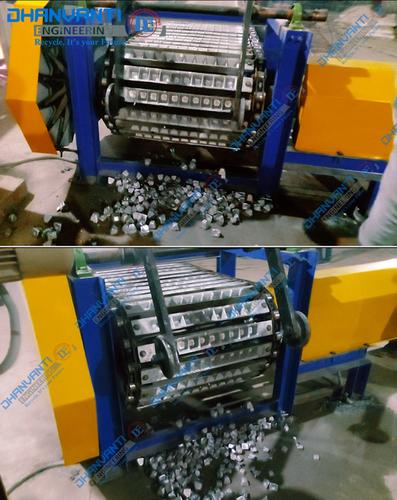 Automatic Aluminum Cube Casting Conveyor