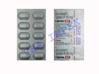 Lipvas Tablets 40 mg