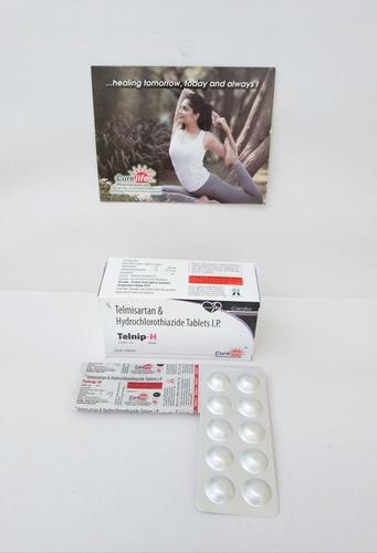 Telmisartan   40 mg Hydrochlorothiazide  12.5 mg