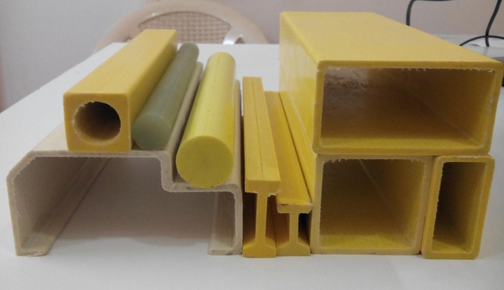 pultruded fibreglass sections