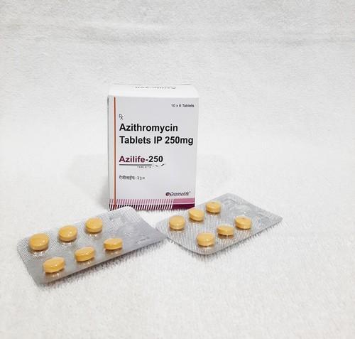 Azithromycin 250 Tablets