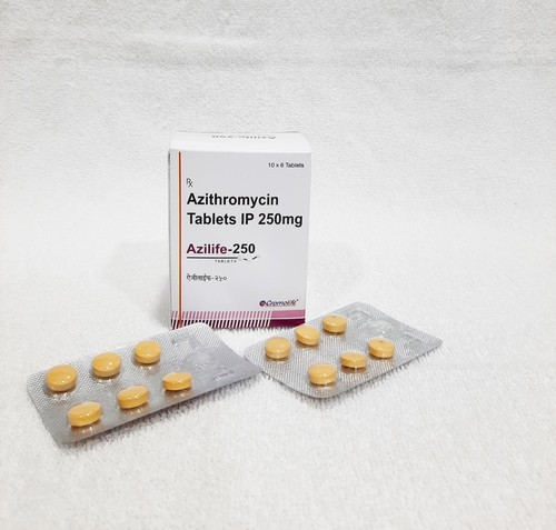 Azithromycin 250 Tablets