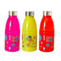 PLASTIC FRIDGE BOTTLE - FLORA 600 ML PRINTED