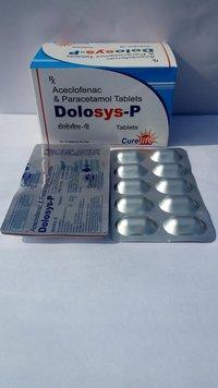 Acelofenac 100mg Paracetamol  325mg