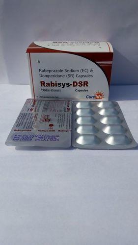 Rabeprazole  Sodium 20mg Domperidone in (S.R) 30mg