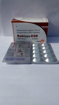Rabeprazole  Sodium 20mg Domperidone in (S.R) 30mg