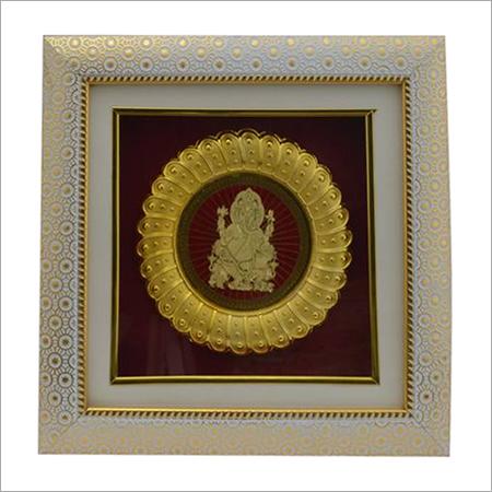 Ganesh Golden Photo Frame
