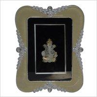 Silver Plated Ganesha Photo Frame