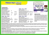 Ceftriaxone and Tazobactam for Injection (Triax-Taz)