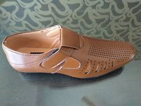BROWN COLOUR FANCY SANDAL FOOTWEAR