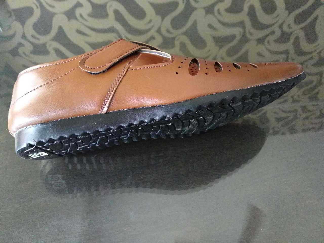 BROWN COLOUR FANCY SANDAL FOOTWEAR