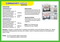 Amoxicillin and Cloxacillin for Injection (Comaxvet)