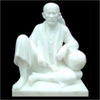 White Marble Sai Baba Statues