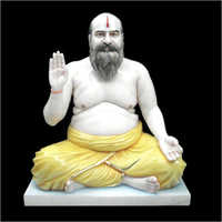 Marble Baba Statues