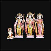 Marble Ram Darbar Statues