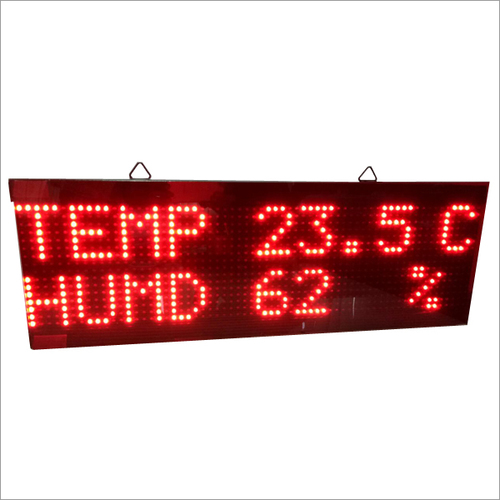 Large Temp And Humidity Display