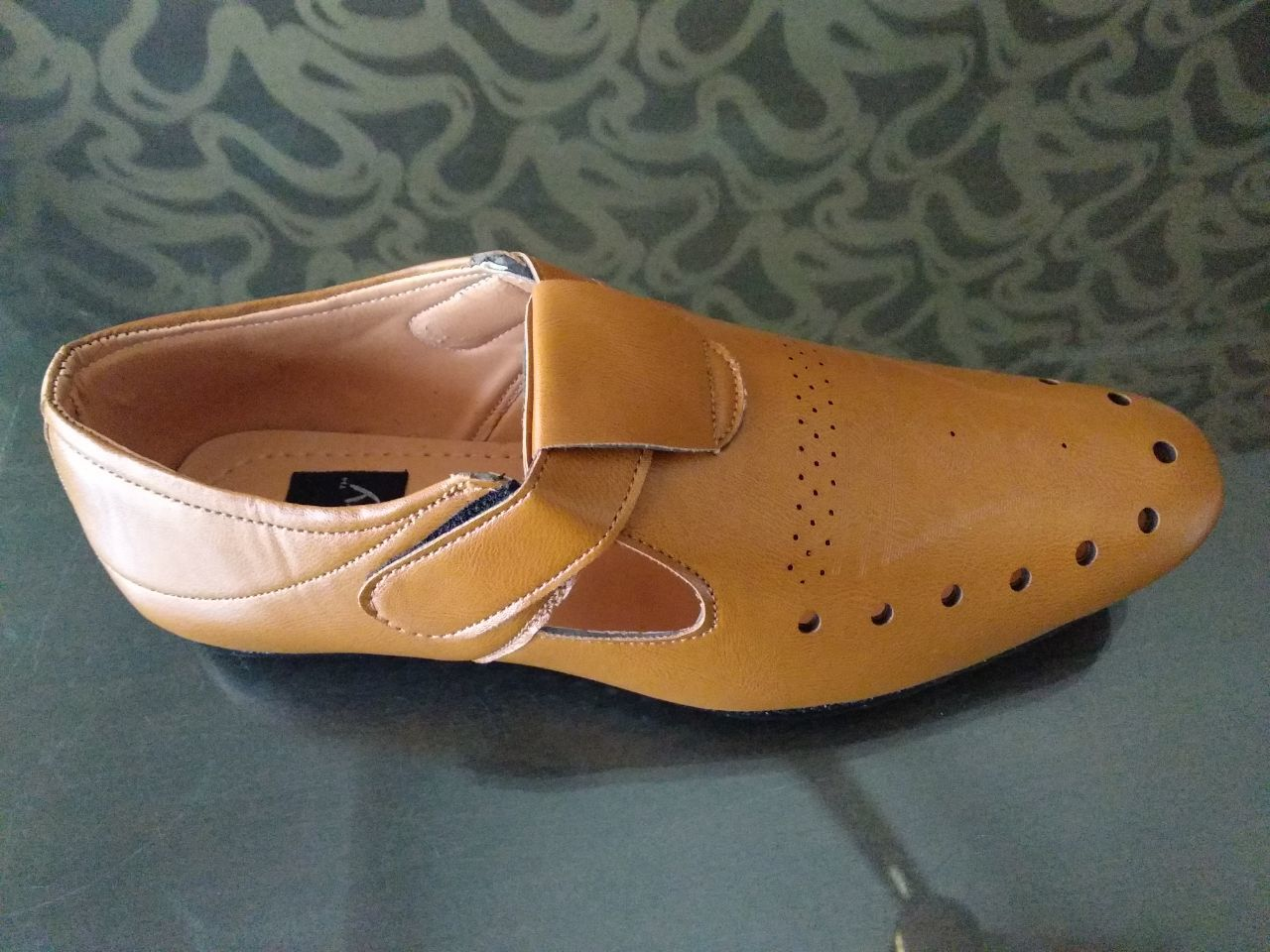 TAN COLOUR FANCY SANDALS FOR MEN'S