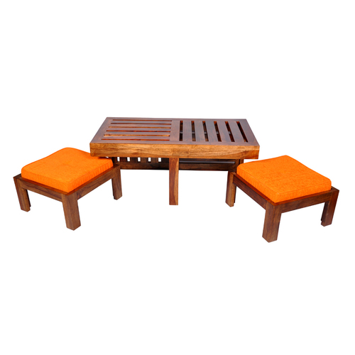 Coffee Table with Two Stool