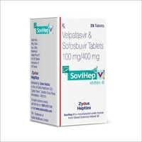 SOVIHEP V Velpatasvir Sofosbuvir Tablet