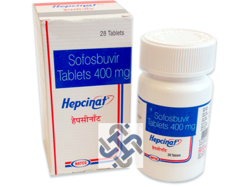 Hepcinat sofosbuvir 400mg Tablets
