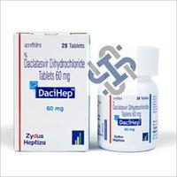 DaciHep Daclatasvir 60mg Tablets