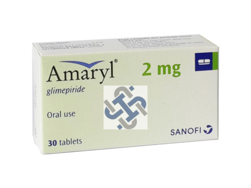 Amaryl Glimepiride 2mg Tablet