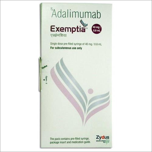 Adalimumab 40MG Exemptia Injection