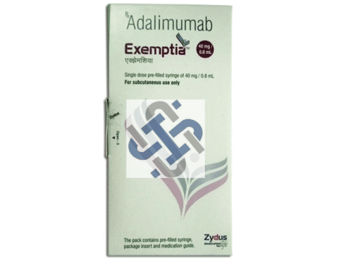 Adalimumab 40MG Exemptia Injection