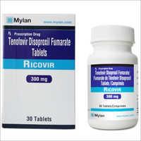 Ricovir Tenofovir 300 Tablets