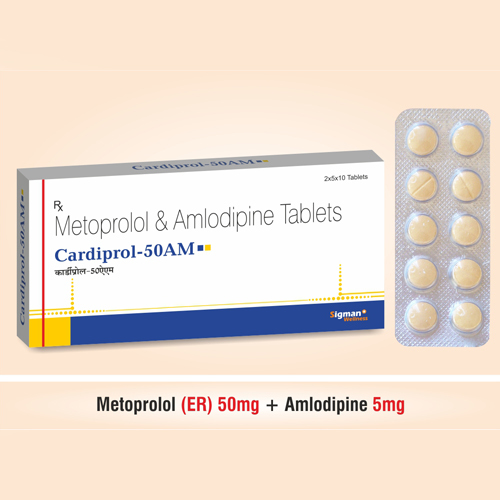 Cardiprol-50AM Tablets
