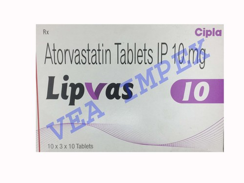 Lipvas 10 mg(Atorvastatin Tablets)