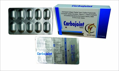 Collagen with Sodium Hyaluronate Tablets