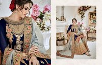 Heavy Bridal Embroiered Sharara Suit