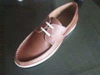 MEN'S BROWN COLOUR BOAT SHOES