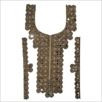 Zari Stone Work Necks