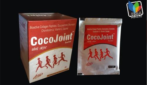 Bromelain Collagen Peptide And Glucosamine Sachet