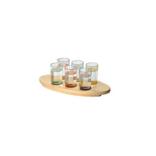 Wooden Shot Glass tray
