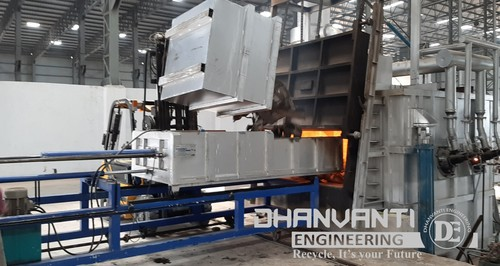 Scrap Furnace Charging Machine
